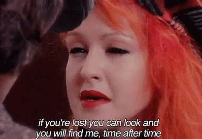 Lauper Cyndi 80s Redhead Gifs Fun Tamara