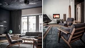 Interior Design Berlin : nomads sober and elegant apartment interior design wearing charcoal and wood in berlin ~ Markanthonyermac.com Haus und Dekorationen