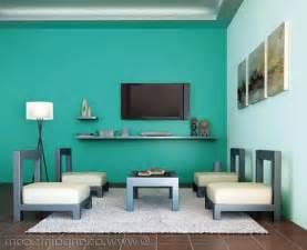 Green Paints Bedroom