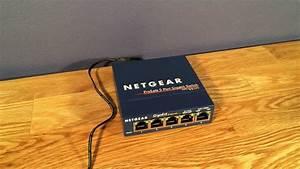 Netgear Prosafe Gigabit Switch  Gs105