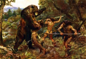 Image result for paleolithic man images