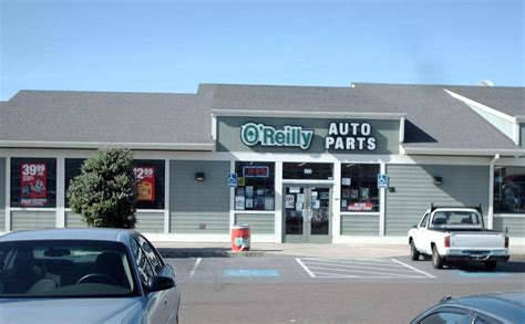 O'reilly Auto Parts In Fort Bragg, Ca