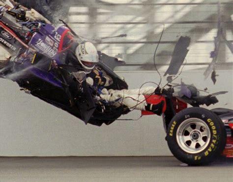 Race Car Wreck by Indycar Crash Racing Foxes