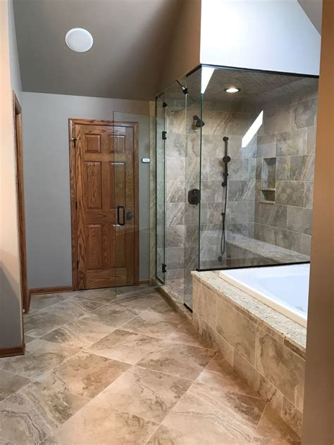master bath steam shower  kitchen bath