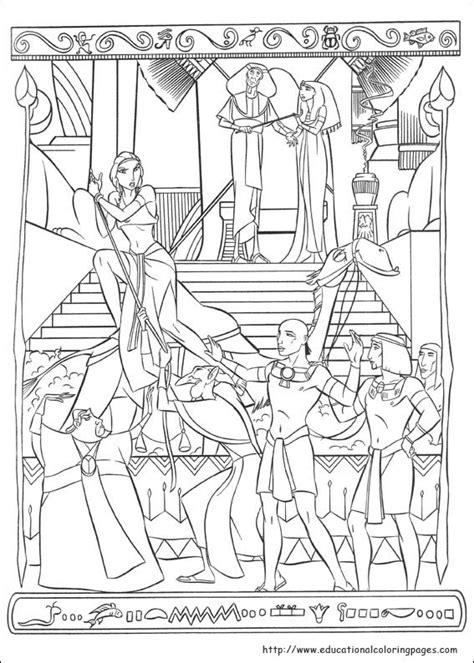 prince egypt coloring pages educational fun kids coloring pages  preschool skills worksheets