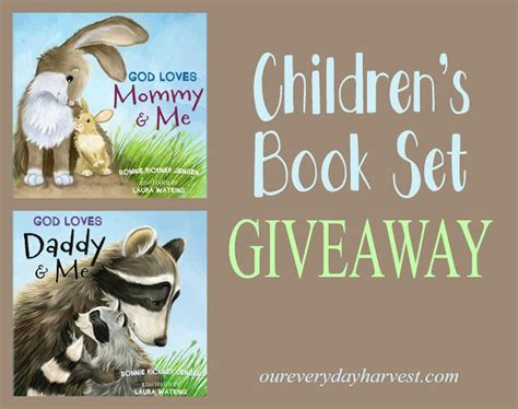 Children's Book Set Review + Giveaway {god Loves Mommy And