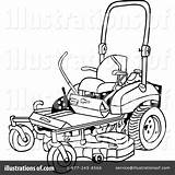 Clipart Coloring Mowing Mower Lawn Transparent Webstockreview sketch template