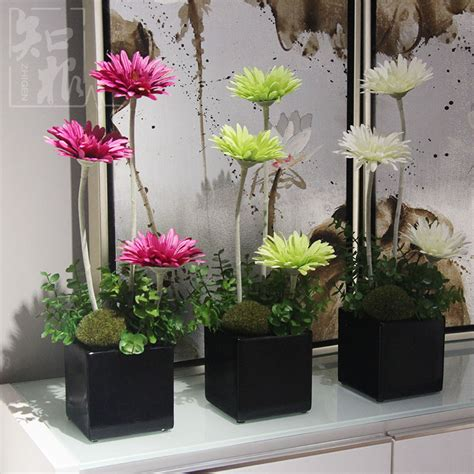 Living Room Artificial Flowers by Silk Flower Simulation Flower Artificial Flowers Suit The