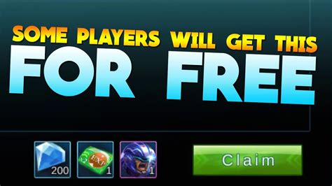 Mobile Legends Free Diamonds For Some Players! (advance
