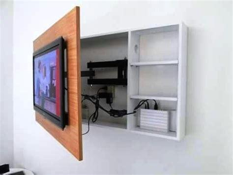 creative  idea   tv stand  wall  show