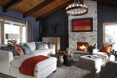 gorgeous homes  alpine chalet style country home