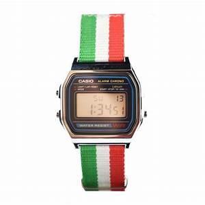 Montre Vintage Casio : montre casio vintage 37 mm a158w nato d mes bijoux fr ~ Maxctalentgroup.com Avis de Voitures