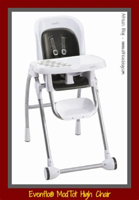 evenflo modtot high chair santa fe review