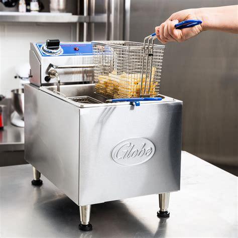 Countertop Fryers by Globe Pf16e 16 Lb Electric Countertop Fryer
