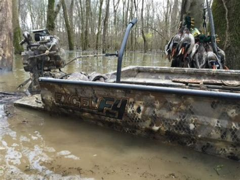 Small Hunting Boats For Sale by Excel Optifade Camo Boats