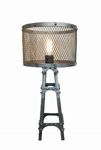 Abat Jour Lampe A Poser : lampe poser baltard abat jour grillage m tal lampe poser ~ Dailycaller-alerts.com Idées de Décoration