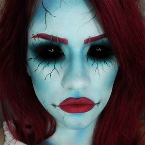 Halloween Make Up Puppe : 13 creepy halloween makeup ideas serenity spa hawaii ~ Frokenaadalensverden.com Haus und Dekorationen