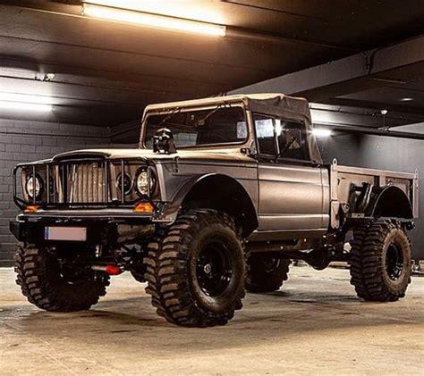 jeep kaiser wagoneer grand wagoneer vehicular vehemence pinterest jeeps