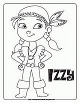 Coloring Pages Pirate Jake Popular Neverland Pirates sketch template