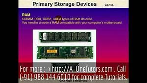 Primary Storage Devices | Best Storage Design 2017
