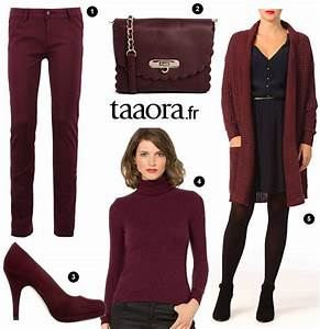 5 idees shopping tendance bordeaux automne hiver 2014 2015 With tendance mode hiver 2014
