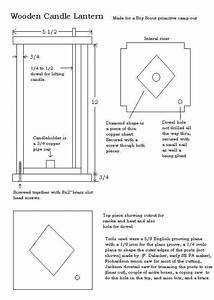 Wooden Candle Lantern Plans
