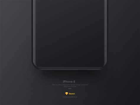 free iphone po iphone 8 mockup freebie sketch resource