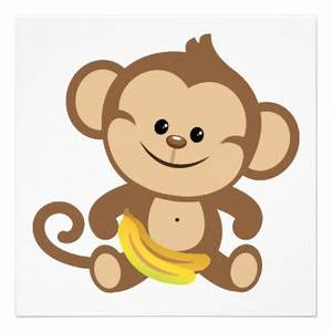 Monkey baby clipart - Clipground
