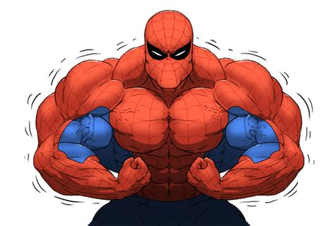 27 Animated Characters As Body Builders