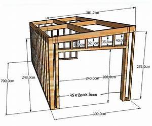 fabriquer garage en bois maison francois fabie With fabriquer un garage en bois