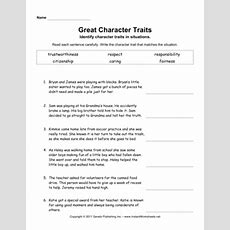 Character Traits Elem