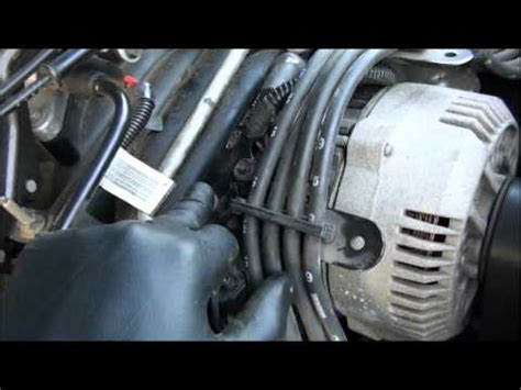 alternator removal replacement ford