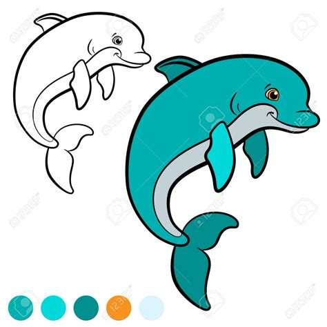 Delfines Dibujos Infantiles Cool Delfines Dibujos