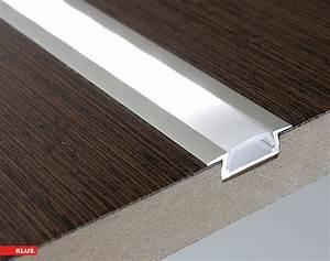 Led Strip Profil : flush mount aluminum profile housing for led strip lights klus micro k series super bright leds ~ Buech-reservation.com Haus und Dekorationen