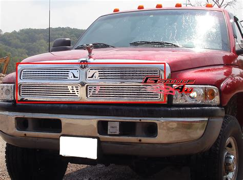 For 9401 Dodge Ram Pickup Symbolic Grille Insert Ebay