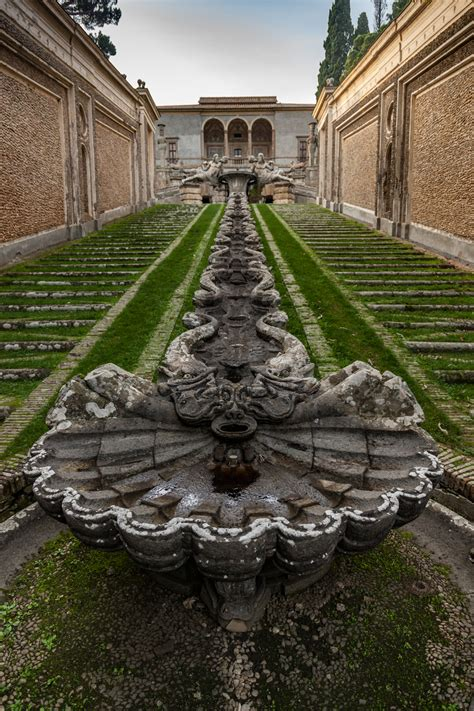 palazzo farnese caprarola  garden historians