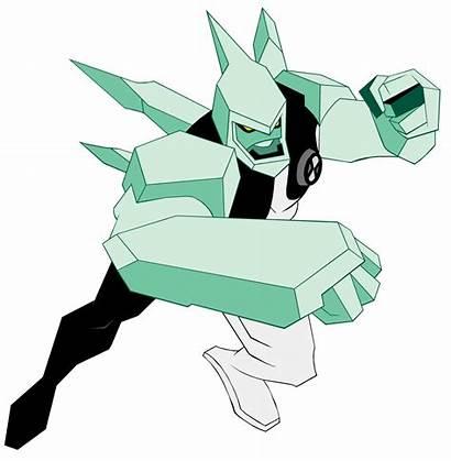 Ben Alien Force Diamante Kevin Aliens Tennyson