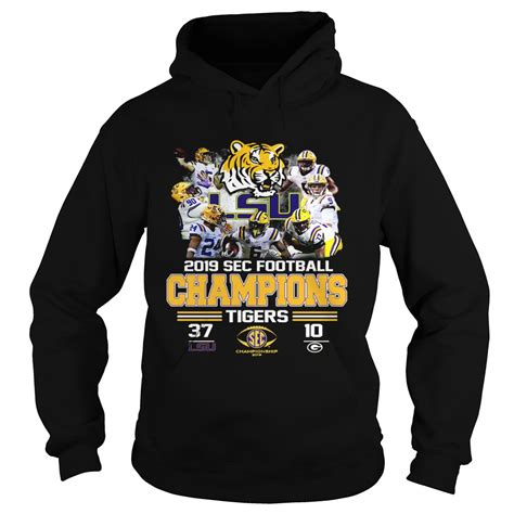 LSU Tigers 37 Georgia Bulldogs 10 Score 2019 SEC Champions ...