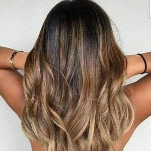 Ombré Hair Marron Caramel : balayage ombre hair surfeuse blond dore coiffure ~ Farleysfitness.com Idées de Décoration