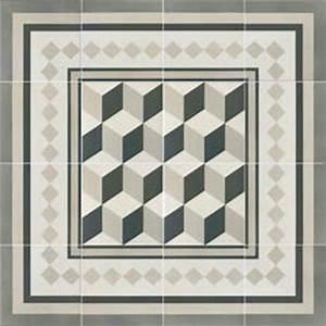 Sol Imitation Carreaux De Ciment : carrelages mosa ques et galets sol blanc 20x20 ~ Dailycaller-alerts.com Idées de Décoration