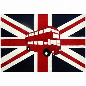 Tapis bus a imperiale union jack buses union jack and for Tapis union jack