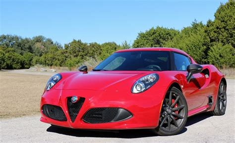 2018 alfa romeo 4c coupe test drive review