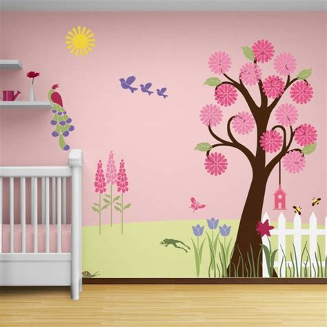 deco murale chambre bebe déco mur chambre bébé 50 idées charmantes