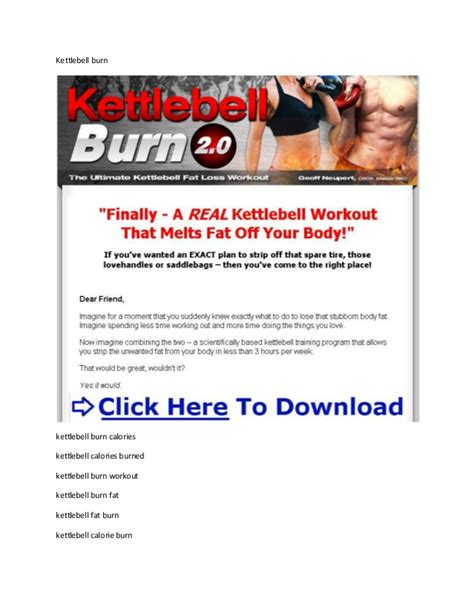 burn kettlebell calories does workout swings burned fat many neupert geoff pdf program exercises slideshare extreme
