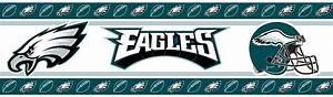 Philadelphia Eagles NFL Wall Border