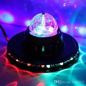 Disco Ball Rotating Light 2015 Crystal Moving Head Rgb Color Auto Rotating Changing