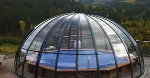 Fabriquer Un Abri De Piscine : l abri de piscine circulaire ou d me ~ Zukunftsfamilie.com Idées de Décoration