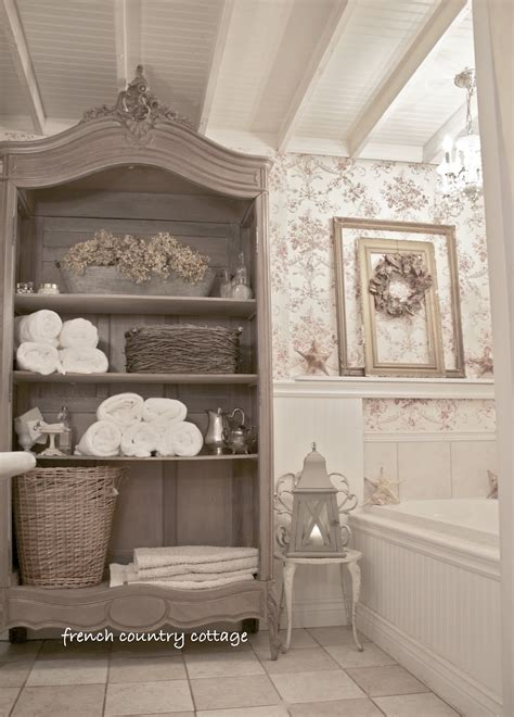 Cottage Bathroominspirations  French Country Cottage