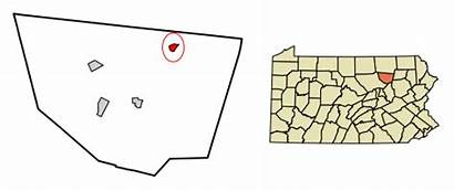Sullivan County Pennsylvania Dushore Eagles Mere Svg