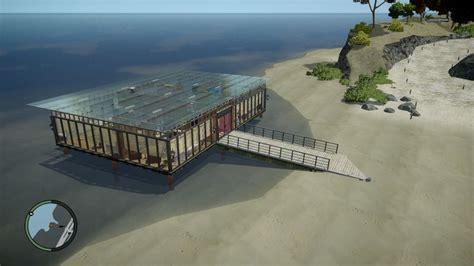 Gta 4 Luxury Beach Glass House Mod Gtainsidecom